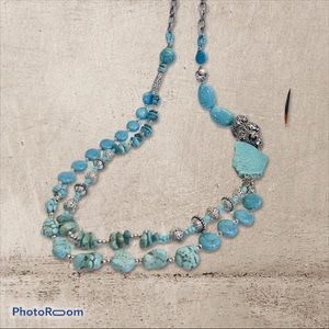 Jewelry - Turquoise long necklace